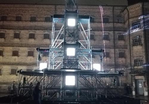 Kalėdinis kiemelis Lukiškių kalėjime