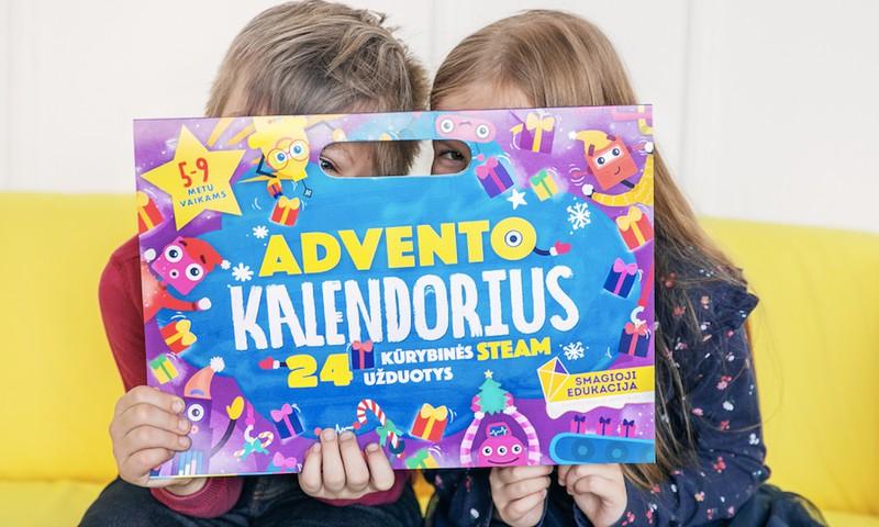 KONKURSAS: Laimėk Advento kalendorių savo vaikučiui!