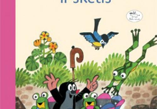 """ATSAKYK IKI 14 val. ir laimėk knygelę vaikams """"Kurmis ir skėtis"""""""