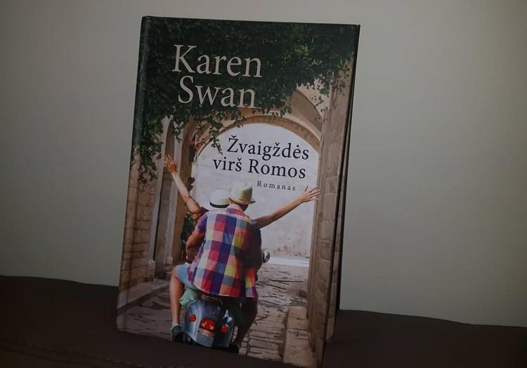 """Karen Swan romanas """"Žvaigždės virš Romos"""""""