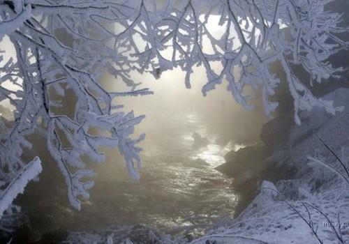 Žiemą šalta, bet gražu