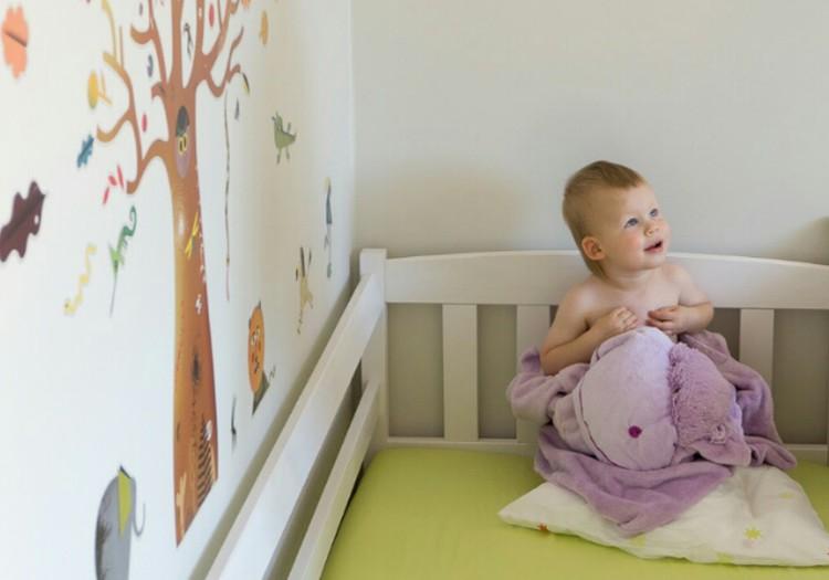 Du mažyliai namuose: apie miegą