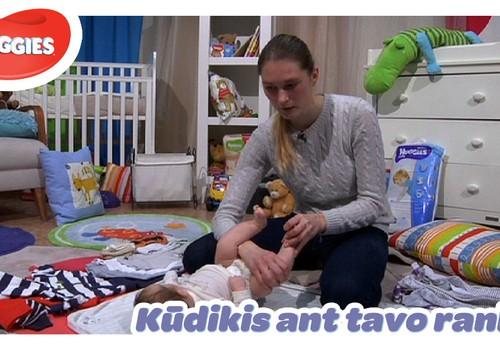 """""""Kūdikis ant tavo rankų"""": perrenkime mažylį taisyklingai"""