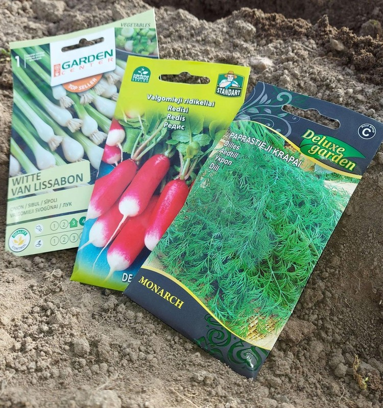 Ar jau yra ką veikti sode, darže, gėlyne?...