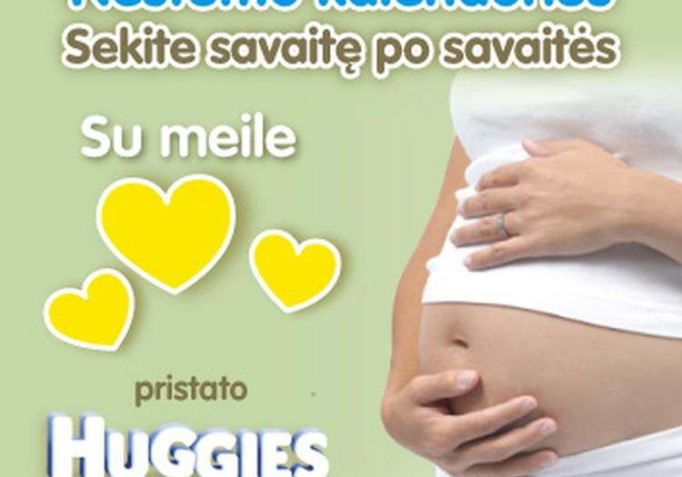 NAUJIENA! Mamyčių klubo Nėštumo kalendorius: sek savaitę po savaitės