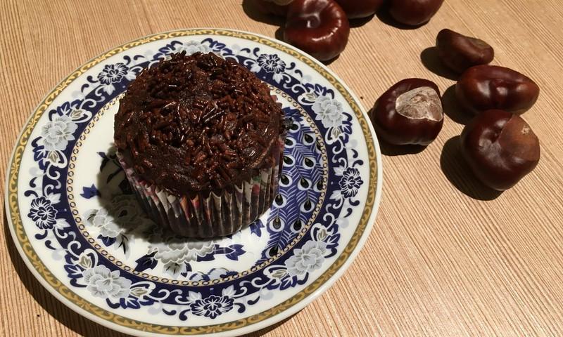 Urtės šokoladiniai keksiukai