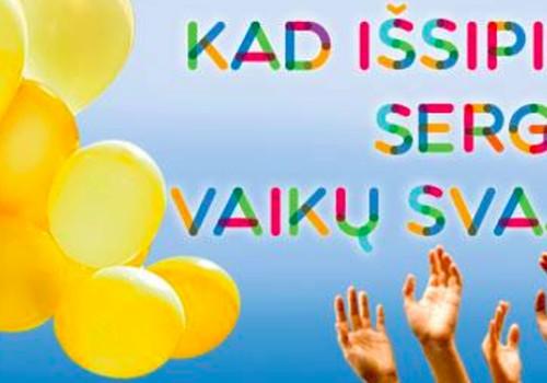 Rugsėjo 21 d. visi visi prie Baltojo tilto! Kad išsipildytų sergančių vaikų svajonės!