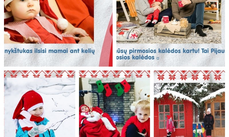 Ačiū už kalėdines atvirutes: FOTO albumas+prizai