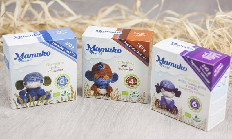 """""""Mamuko"""" košės - vienintelės ekologiškos košės vaikams, gaminamos Lietuvoje"""