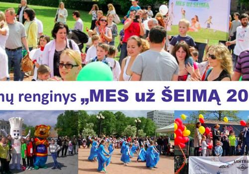 Sudalyvauk šeimų eisenoje Vilniuje - gegužės 19 d.
