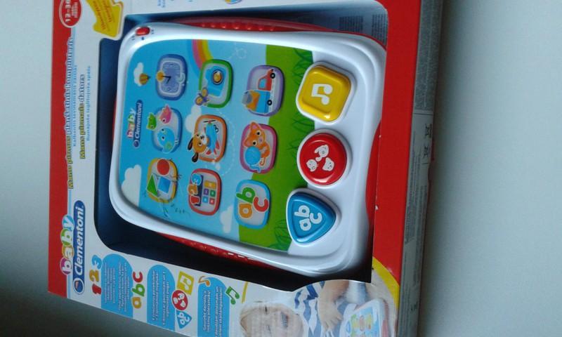 """""""Clementoni"""" žaislinės planšetės testavimas"""