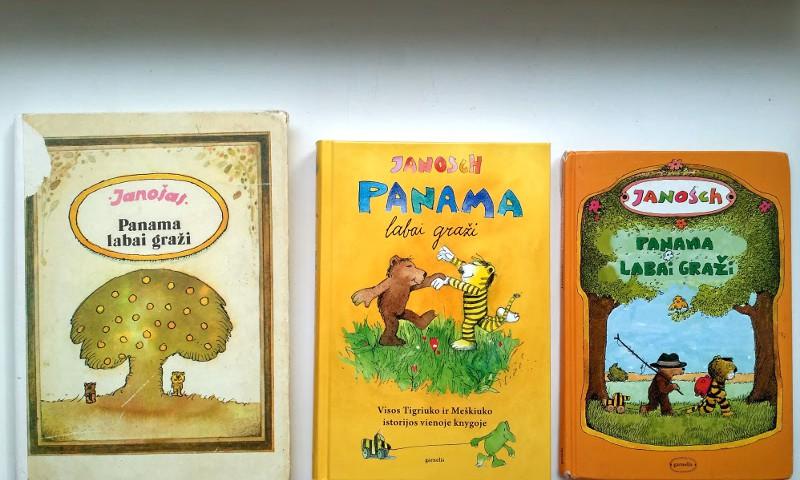 Meškiukas bibliotekoje: Pati gražiausia Panama