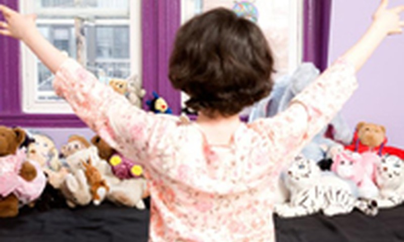 Kiek erdvės namie skiriate savo vaikui?