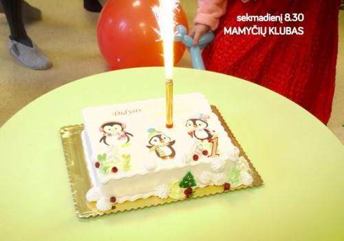 """Ką matysite laidoje šį sekmadienį: kūdikio maudynių ypatumai, """"gruodinukų"""" gimtadienis, rašytojos Monikos obuolių pyragas"""