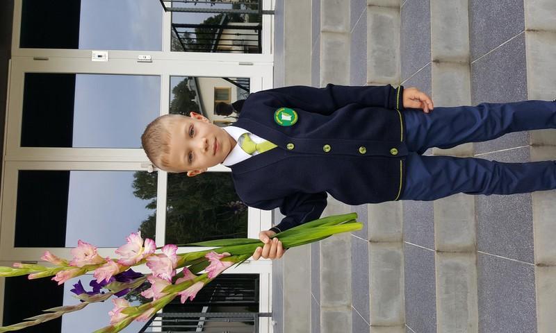Kasparo 1-oji savaitė mokykloje