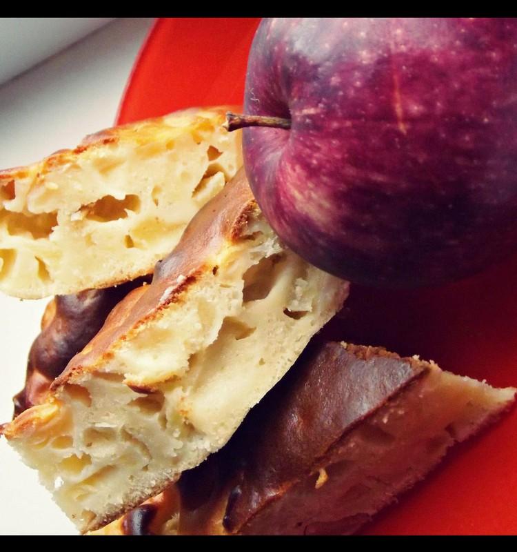 Vyrukų obuolių pyragas