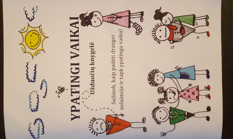 Apie saugumą nuo pirmųjų mokslo metų: ypatingų vaikų knygelė