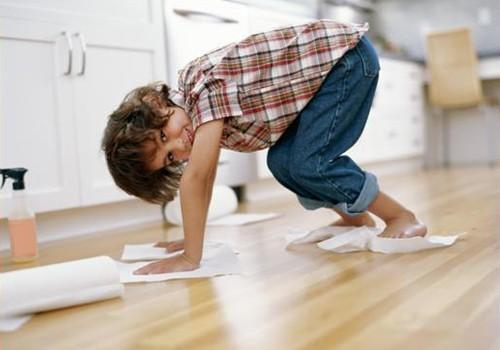 Kaip valyti namus, kuriuose gyvena ir vaikai