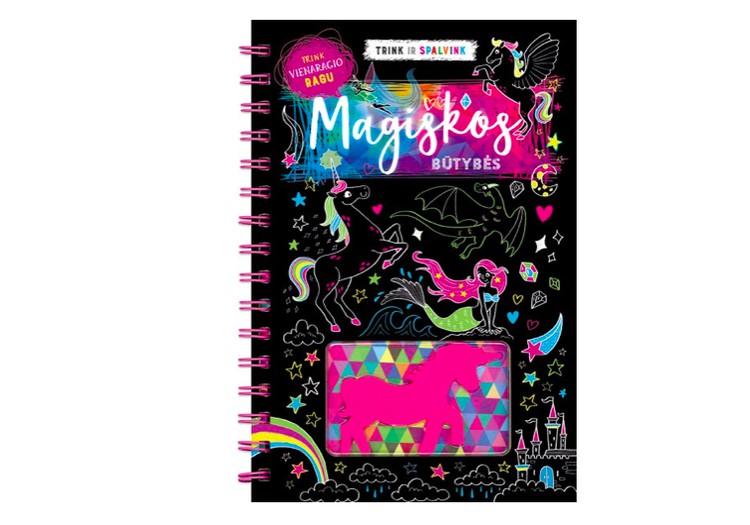 """Savaitgalio knygos konkursas: """"Trink ir spalvink. Magiškos būtybės"""""""