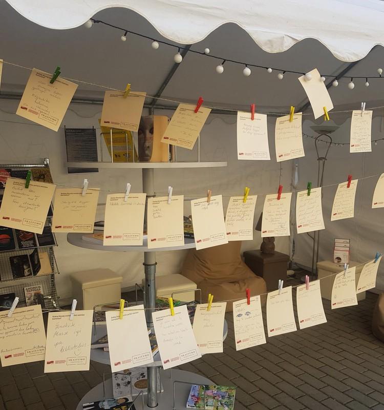 Skaitymo festivalis 2021 - įdomybės ir naujos patirtys