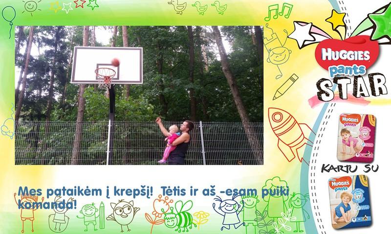 Pirmosios krepšinio pamokos