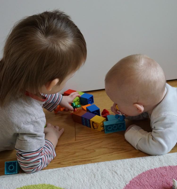 Du mažyliai namuose: darželis