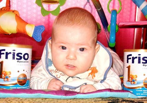 Friso Gold 1 pieno mišinio testavimas ir atsiliepimas