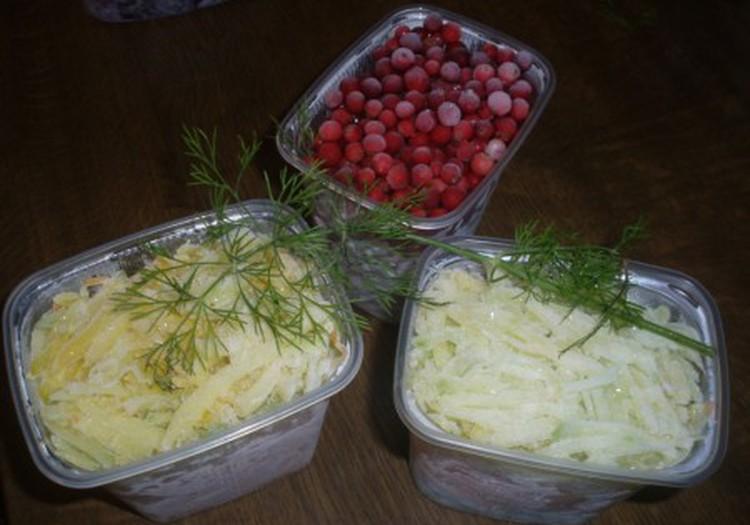 Šaldytos daržovės žiemai