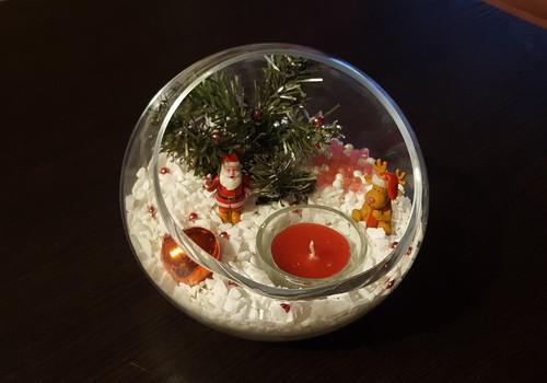 Kalėdinė stalo dekoracija