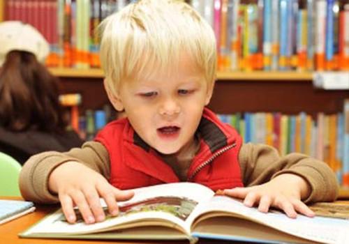 Ką knygoje perskaito skaityti nemokantis vaikas?