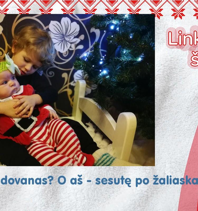 Pirmosios Kalėdos su sesute :)