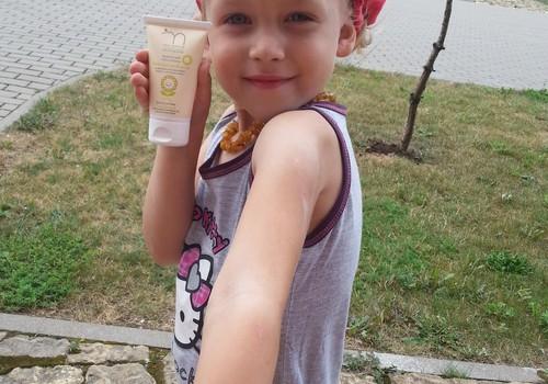 Margaritos kremo vaikams testukas