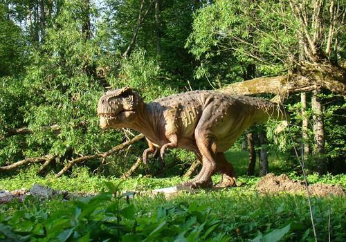 Dinozaurų parkas - jau šalia Klaipėdos