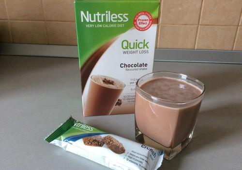 Penkios dienos su Nutriless ir pasiekti rezultatai