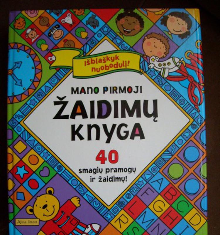 Knygos – ne tik skaitymui, bet ir žaidimams
