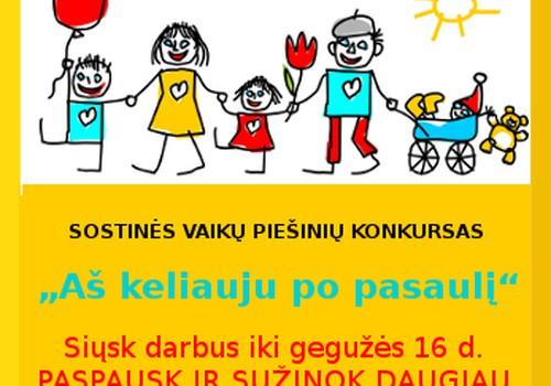 """""""Strazdanėlės"""" kviečia dalyvauti vaikų piešinių konkurse"""