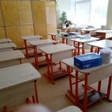 Klasė dar ruošiama naujiems mokiniams