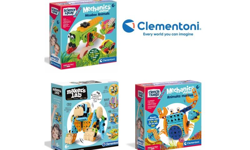 """Clementoni """"Mechanics Junior"""" žaislai – išsipildžiusi vaikų svajonė!"""
