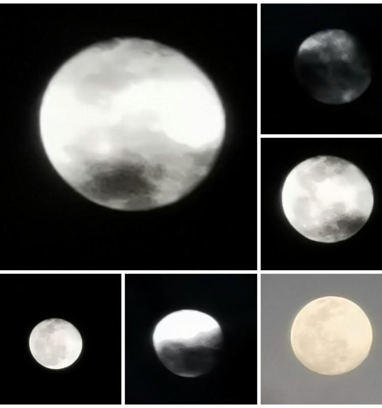 Mėnulis mūsų fotografijose