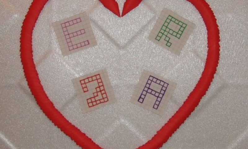 Jolantos šeimos herbas - iš origami