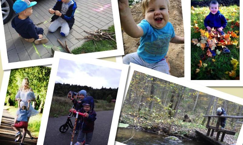 """FOTOalbumas: Vaikai šėlsta lauke+ įteikiame knygą """"Kur nuklydo panagiukai?"""""""