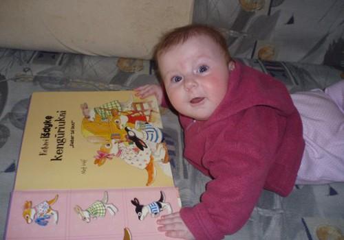 Kada pradėjote skaityti vaikiškas knygas?