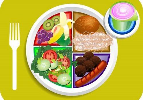 """Sveika mityba: ar žinote kas yra """"mano lėkštė"""" ir 5 vaisių taisyklę?"""