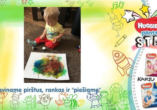 Pirmoji tapybos pamokėlė
