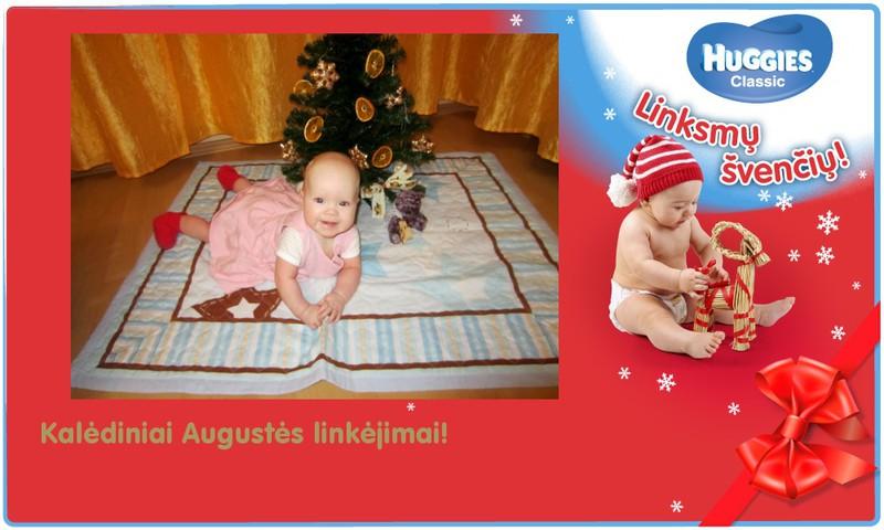 Auguste kalėdoja