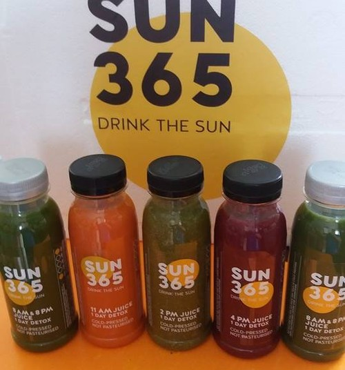 Mano išbandymų diena su SUN 365 sultimis