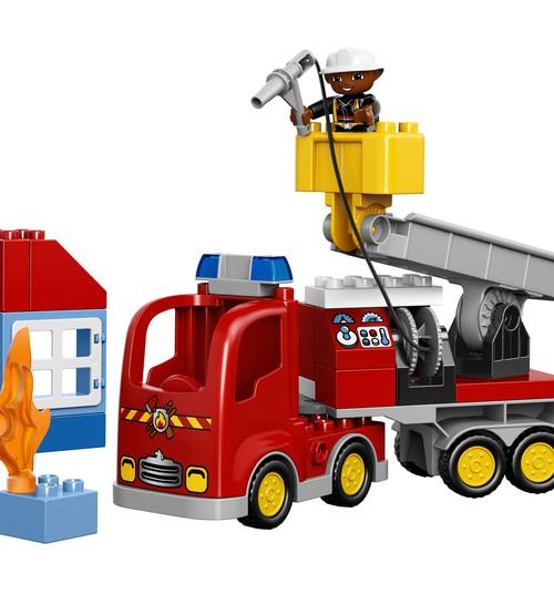 """Konkursas Facebooke: Laimėk Lego DUPLO """"Ugniagesių automobilį"""""""