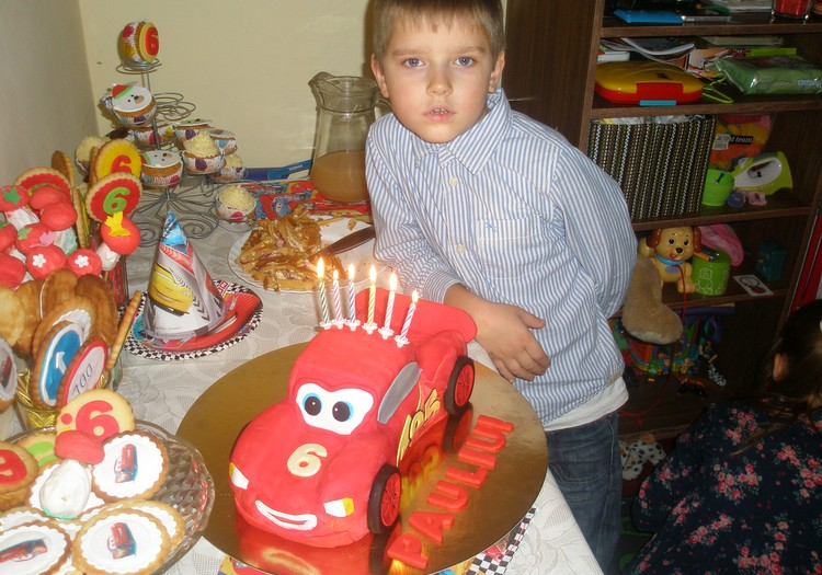 Mano Pauliukui jau 6-eri :-)
