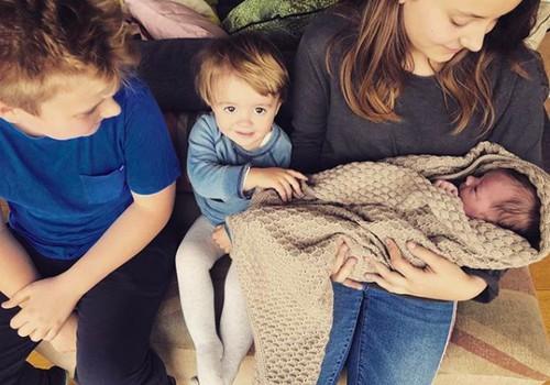 Beata Nicholson susilaukė ketvirtos atžalos