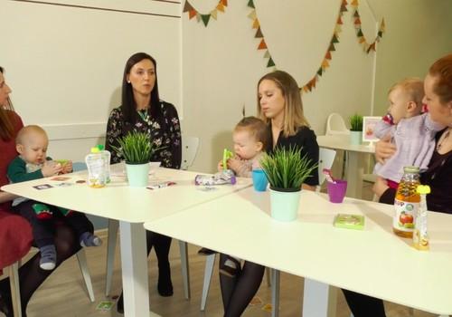TV Mamyčių klubas 2019 03 24: 1 metų mažylio mityba, kūdikių gestų kalba, vaikų drabužių skalbimas